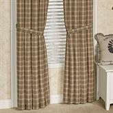 Sawyer Mill Tailored Curtain Pair Multi Warm 80 x 84