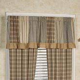 Sawyer Mill Tailored Valance Multi Warm 72 x 19