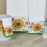 Perennial Bath Towel Set Multi Bright Bath Hand Fingertip
