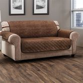 Angier Secure Fit Furniture Protector Cocoa Sofa