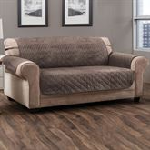 Angier Secure Fit Furniture Protector Taupe Sofa