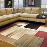Modern Composition Rectangle Rug