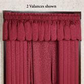 Princeton Scalloped Valance  52 x 18