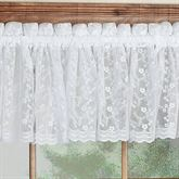 Bridal Lace Tailored Valance  60 x 12