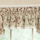 Cherries Tailored Valance  52 x 12
