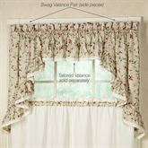 Cherries Swag Valance Pair  58 x 36
