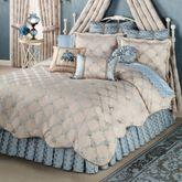 Blooming Treillage Comforter Set Periwinkle