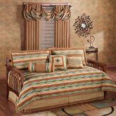Oasis Daybed Set Saddle Brown Daybed