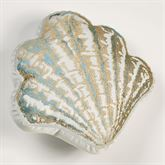 Coastal Dream Contour Shell Pillow Multi Cool 15