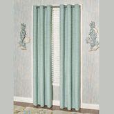 Coastal Dream Solid Grommet Curtain Pair Multi Cool 84 x 84