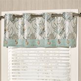 Coastal Dream Grommet Valance Multi Cool 60 x 18