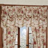 Heirloom Rose Tuck Valance Fawn 90 x 20