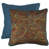 San Angelo Paisley European Sham Multi Warm