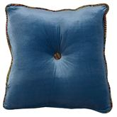 San Angelo Tufted Square Pillow Multi Warm 18 Square
