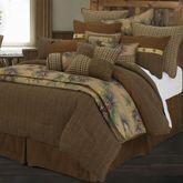 Crestwood Comforter Bed Set Saddle Brown