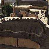 Barbwire Comforter Bed Set Chocolate