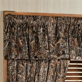 Conceal Brown Tailored Valance Multi Warm 56 x17.5