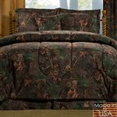 Mixed Pine Mini Comforter Set Multi Warm