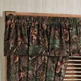 Mixed Pine Tailored Valance Multi Warm 56 x17.5