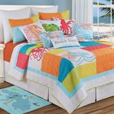 Tropic Escape Quilt White