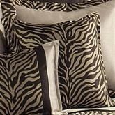 True Safari Flanged Square Pillow Beige 18 Square