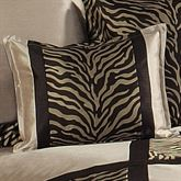 True Safari Tailored Rectangle Pillow Beige