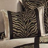 True Safari Tailored Rectangle Pillow Beige