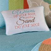Washed Ashore Piped Rectangle Pillow Multi Jewel