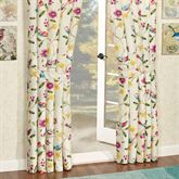 Sweet Tweet Tailored Curtain Pair Light Cream 84 x 84