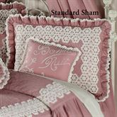 Memories Ruffled Sham Blush Standard