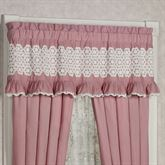 Memories Ruffled Valance Blush 60 x 18