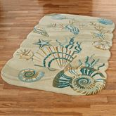 Coastal Dream Rectangle Rug Natural