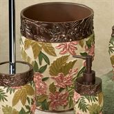 Tropical Haven Wastebasket Light Cream