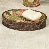 Tropical Haven Soap Dish Light Cream