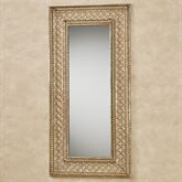 Corynne Wall Mirror Tarnished Gold