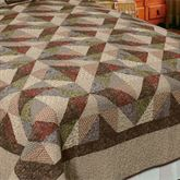 Country Cottage Patchwork Quilt Multi Warm
