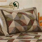 Country Cottage Quilted Sham Multi Warm Standard