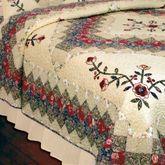 Victorian Treasures Quilt Light Cream