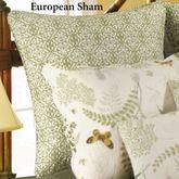Althea Piped European Sham Eggshell