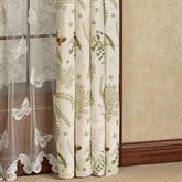 Althea Tailored Curtain Panel Eggshell 50 x 84