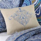 Daphne Tailored Rectangle Pillow Blue