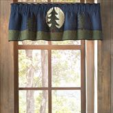 Bear Dance Tailored Valance Jungle Green 60 x 15