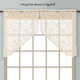 New Rochelle Swag Valance Pair 56 x 38