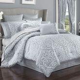Harrison Comforter Set Chrome