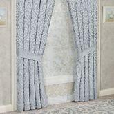 Harrison Tailored Curtain Pair Chrome 98 x 84