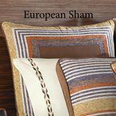 Montaneros Piped Sham Brown European