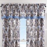 Santorini Indigo Tailored Valance 88 x 18.25