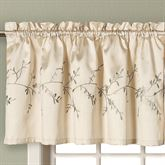 Addison Embroidered Valance 52 x 21