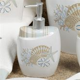By the Sea Lotion Soap Dispenser White