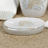 By the Sea Soap Dish White